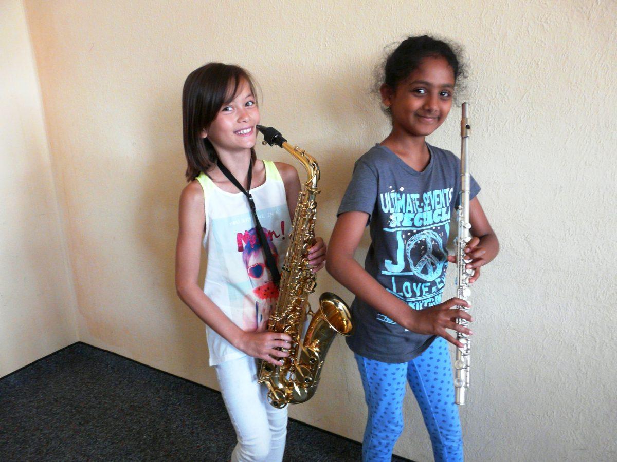 Sax und Co. – 30 Instrumente für die Bläserklasse ist unser 100. erfolgreiches Projekt!