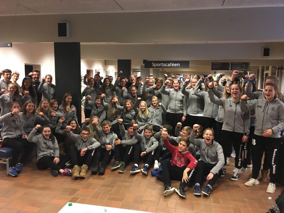 Handball Talente gehen mit Hilfe der bw crowd nach Dänemark